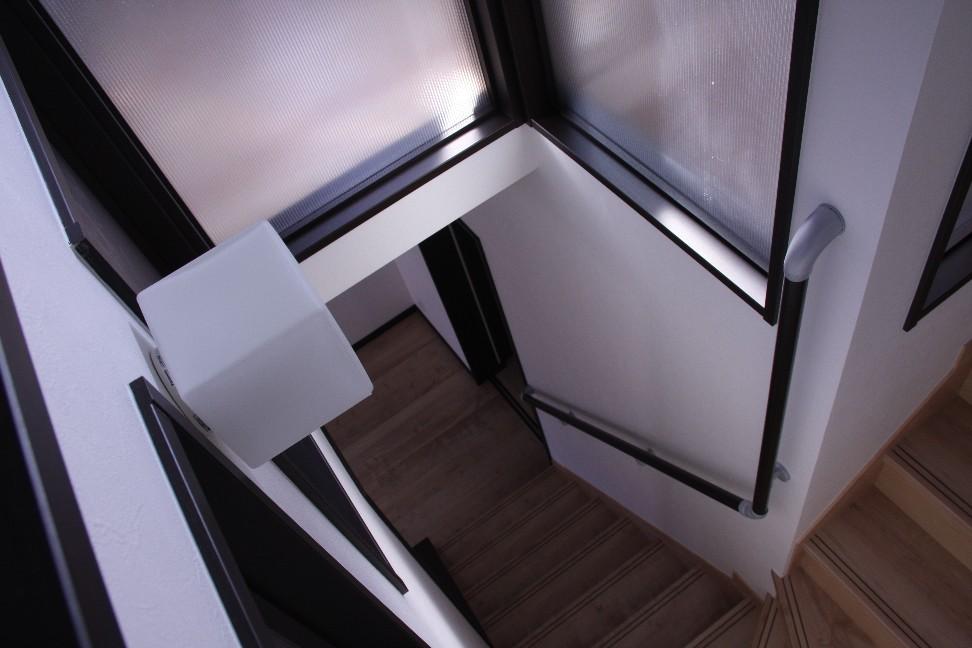 2世帯住宅 3階 階段ホール