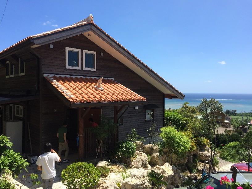 ロケーションの良い沖縄の住宅