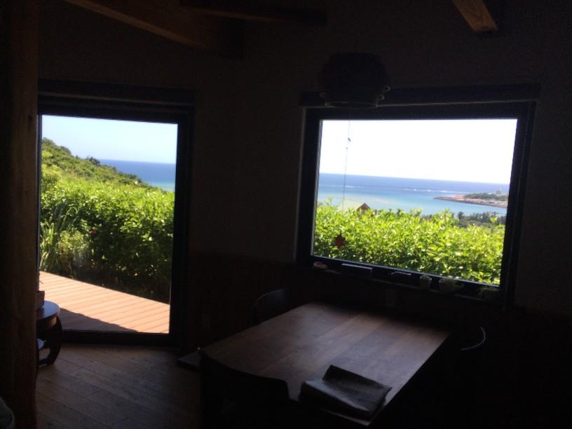 窓からの最高の景色