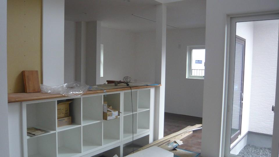 イケアの家具を利用した収納